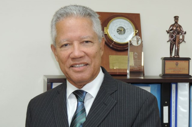 Maritime Authority of Jamaica Director General, Rear Admiral Peter Brady, has been given an - peter-brady